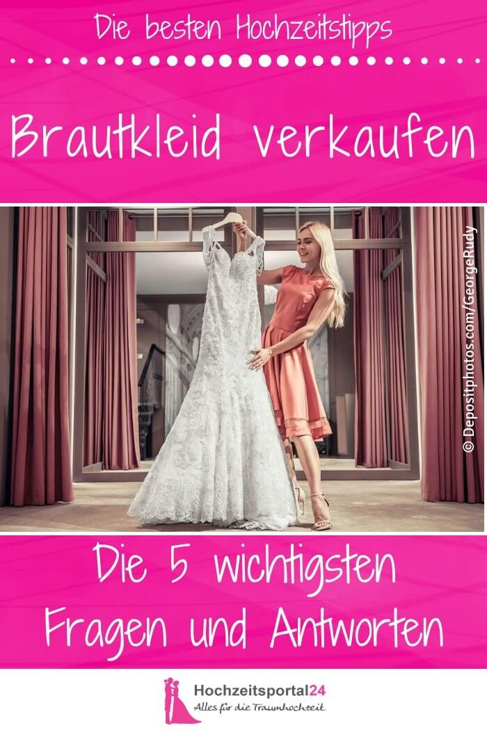 Hochzeitskleid gebraucht verkaufen