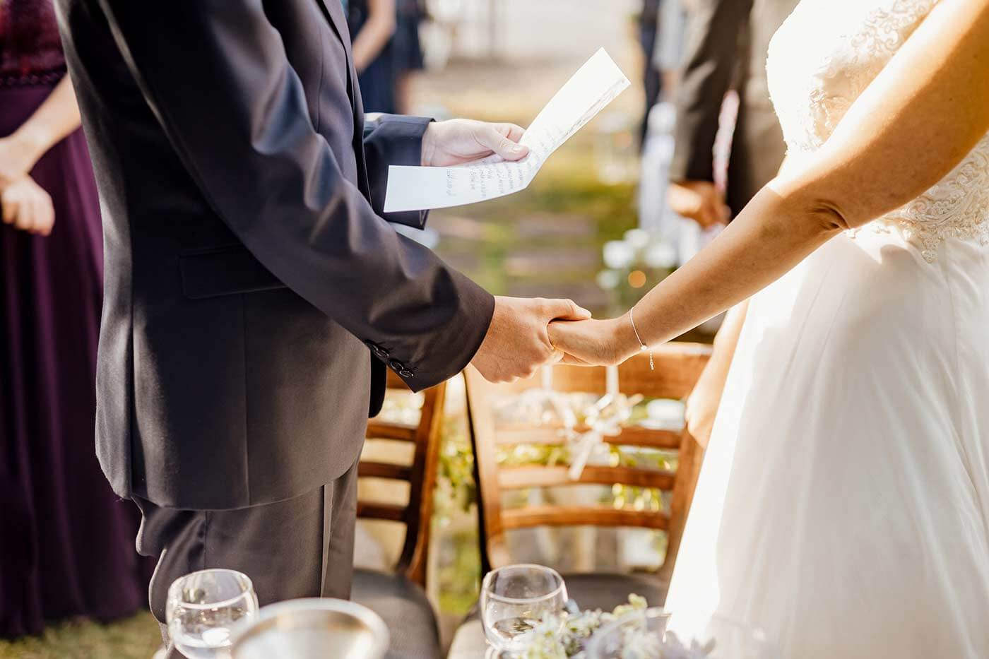 Fertige Eheversprechen