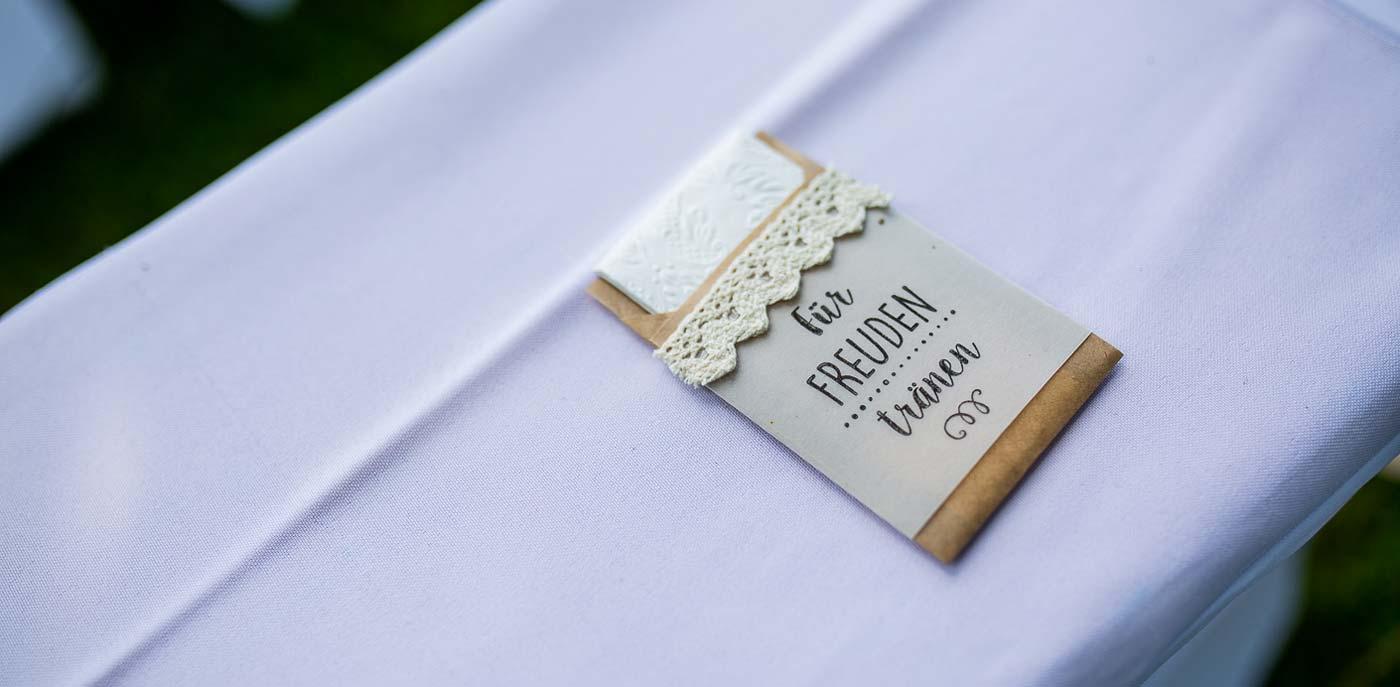 Hochzeitstaschentücher
