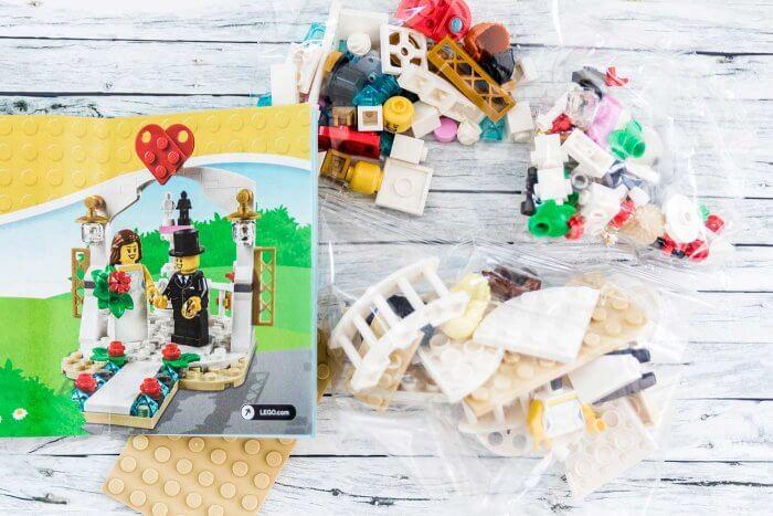 Hochzeit Lego Brautpaar