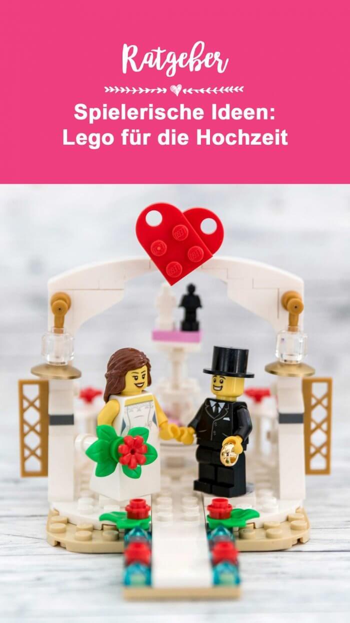Lego Hochzeitspaar Braut und Bräutigam