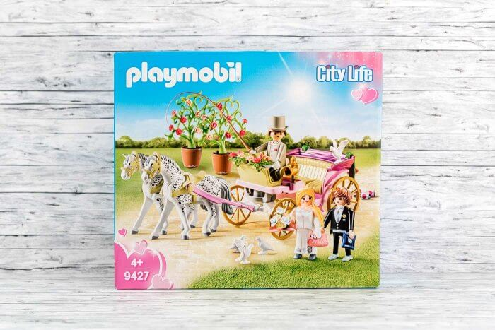 Playmobil 9427 Kutsche mit Brautpaar