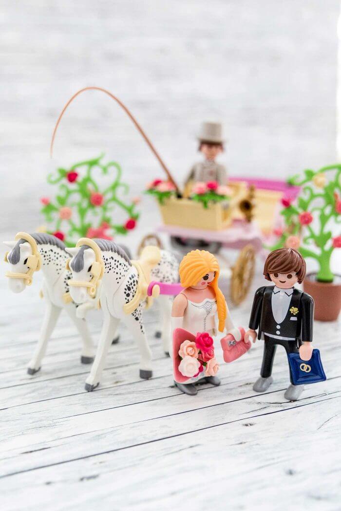 Playmobil Pferdekutsche Hochzeit