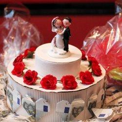 Geldgeschenk Hochzeit basteln