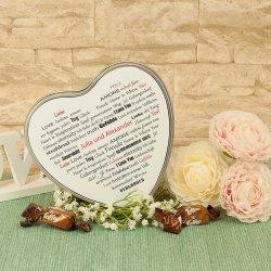 Hochzeitsgeschenk Herzbox