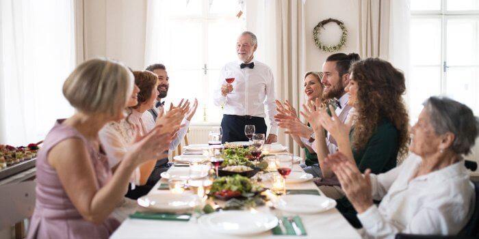 Rührende Rede zur Goldenen Hochzeit