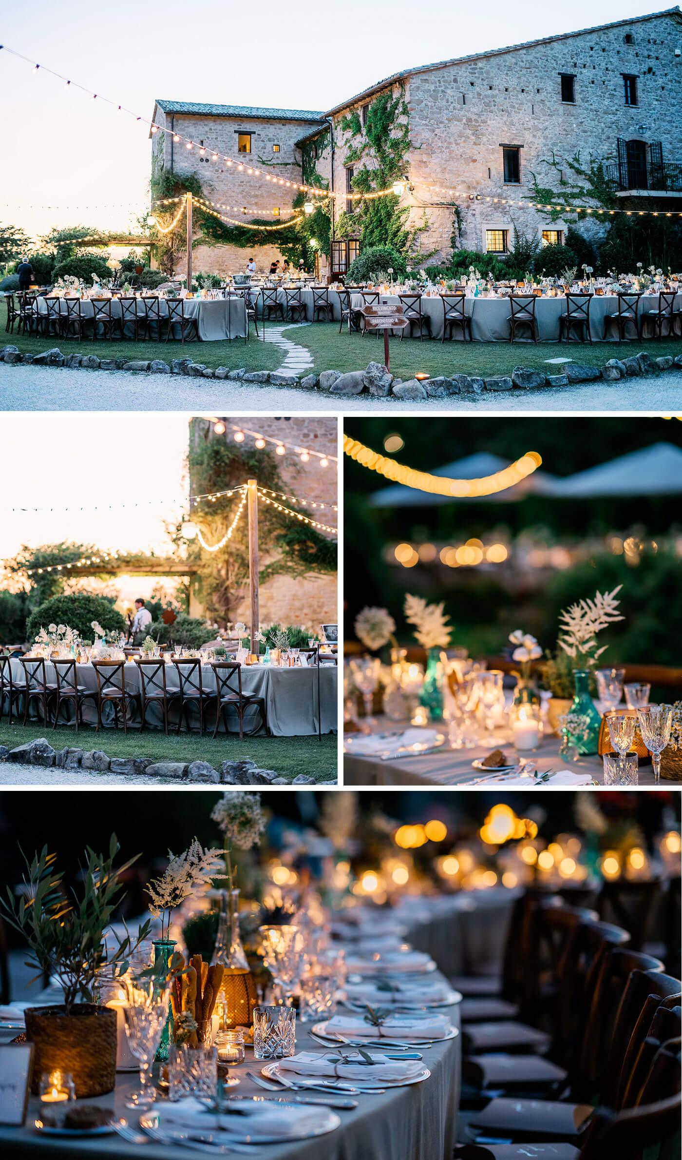 Draußen heiraten
