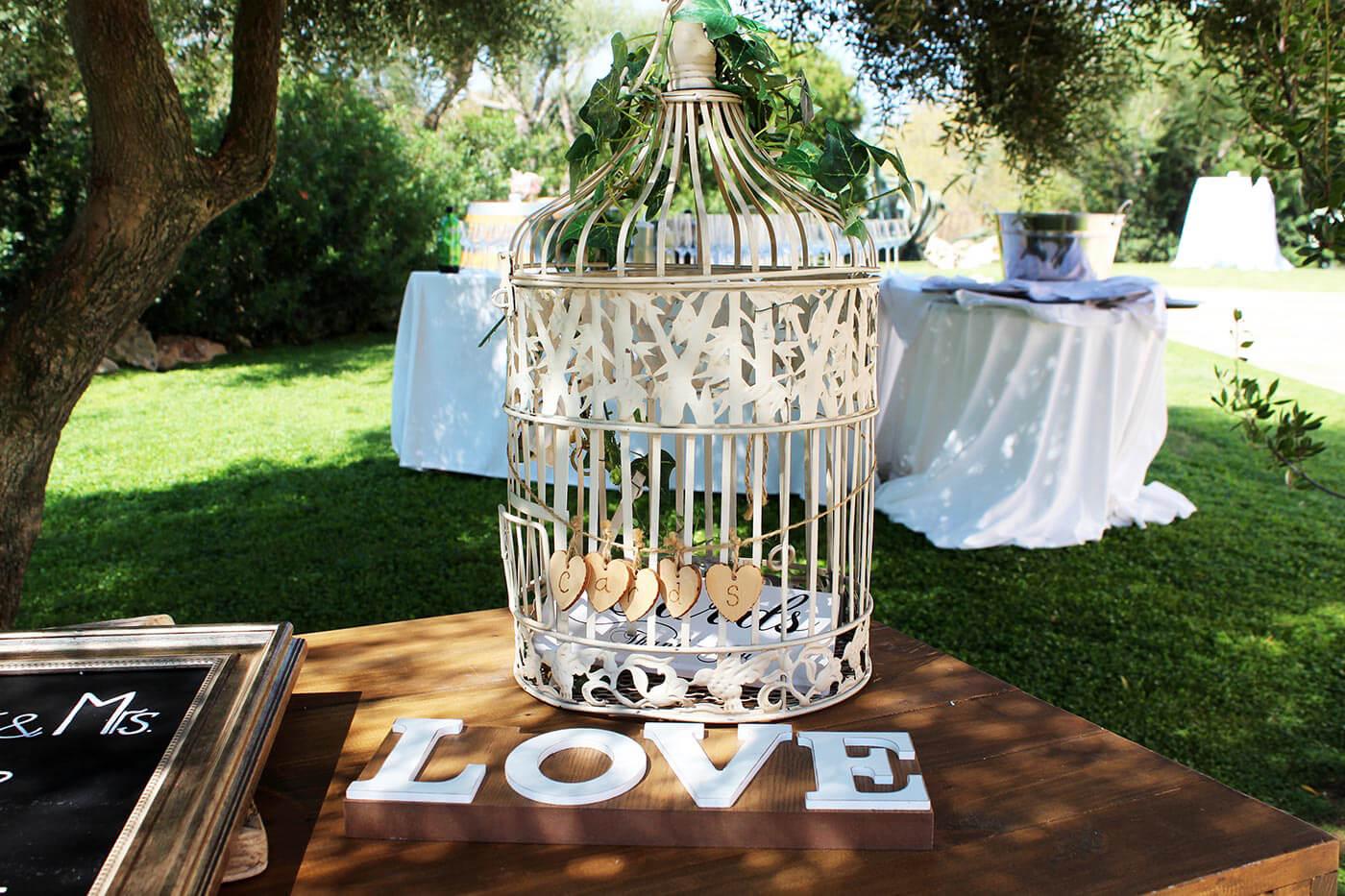 Bräuche Hochzeit Briefbox