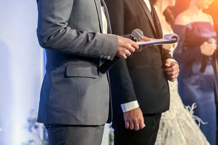 Bräuche zur Hochzeit Zeremonienmeister