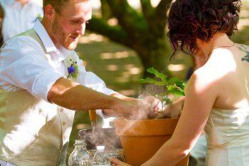 Hochzeitsbrauch Baum pflanzen