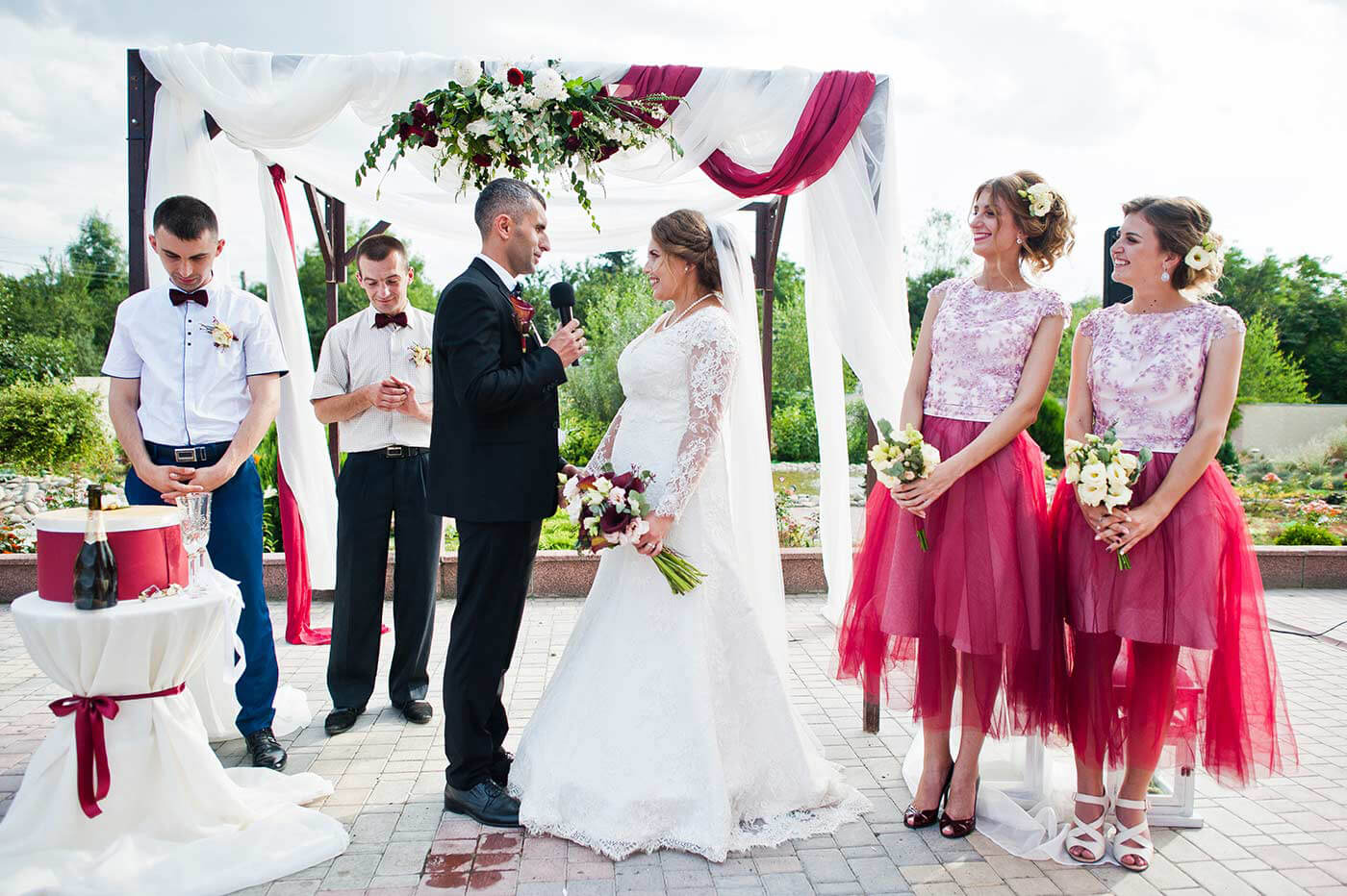 Hochzeitsbrauch Eheversprechen