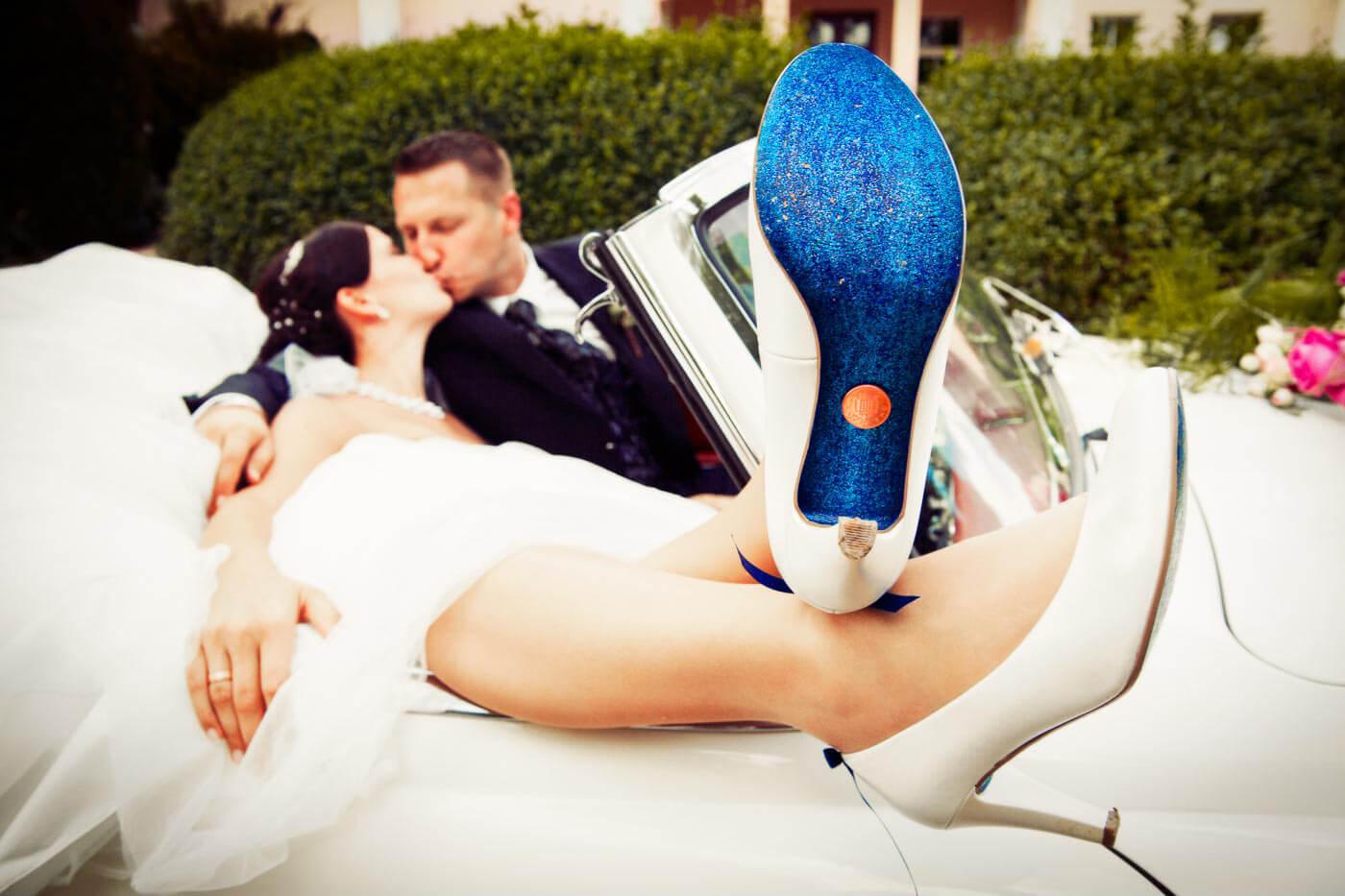 Hochzeitsbrauch Pfennig im Schuh