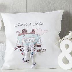 Kissen als Hochzeitsgeschenk