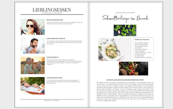 Kochbuch Hochzeit