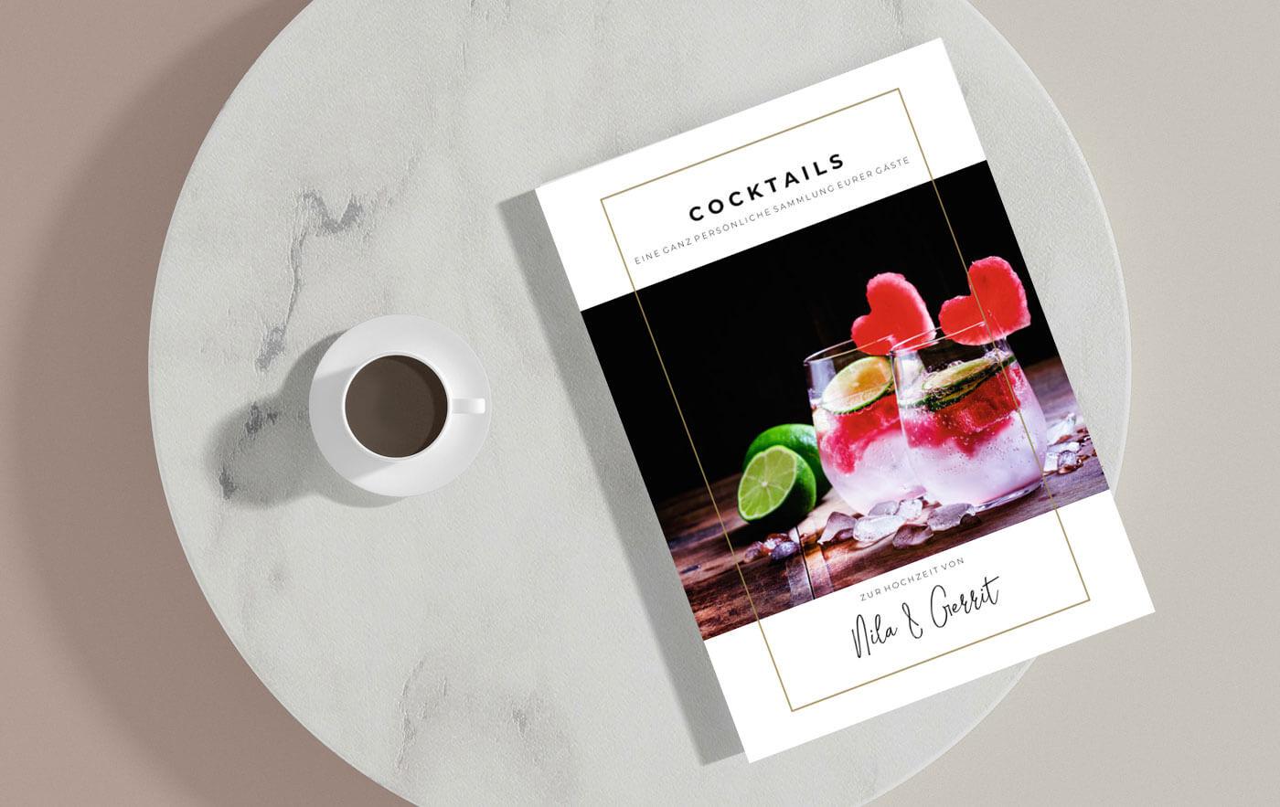 Kochbuch zur Hochzeit