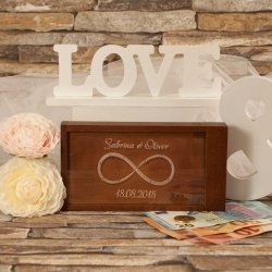 Geldgeschenkbox zur Hochzeit