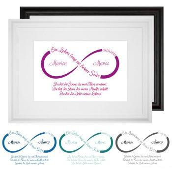 Hochzeitsgeschenk personalisierte Bilder