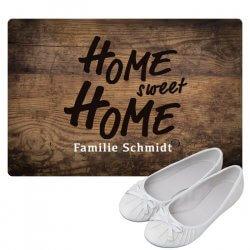 Fußmatte personalisiert