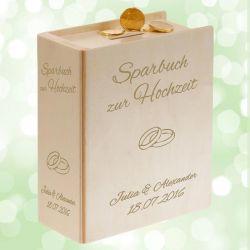 Sparbuch zur Hochzeit - Hochzeitsgeschenk