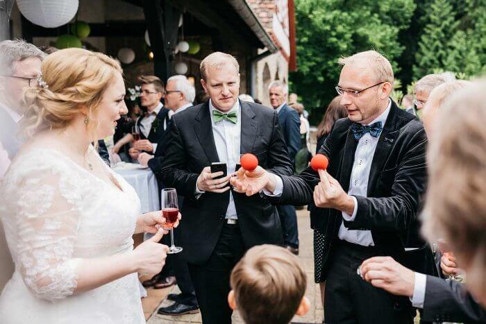 Hochzeit Zauberer