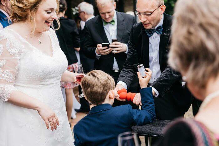 Magier bei der Hochzeit