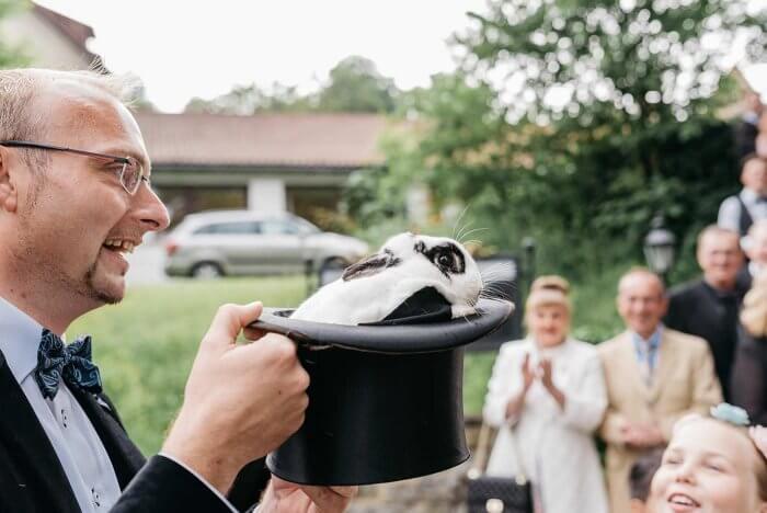Zauberer für Hochzeit