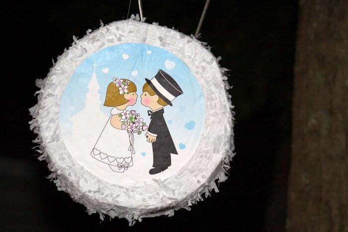 Piñata für Erwachsene Brautpaar