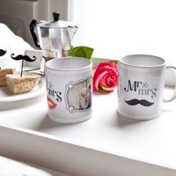 Brautpaar Tassen