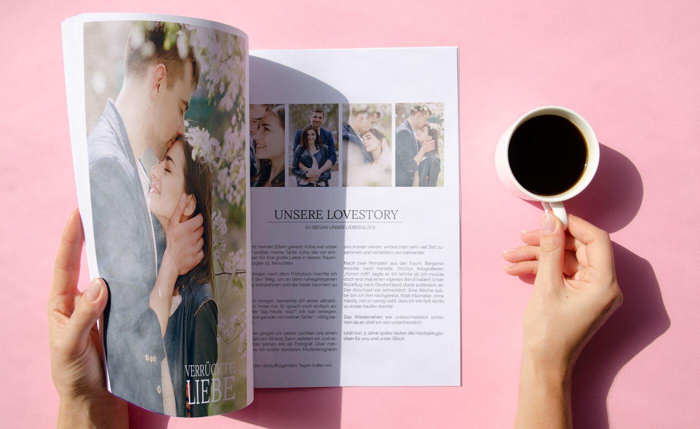 Hochzeitszeitung Ideen