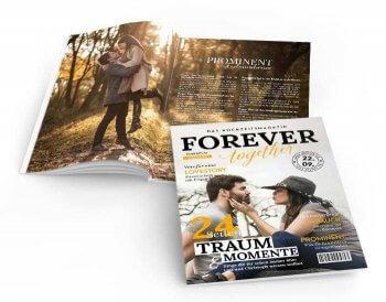 Ideen für Hochzeitszeitung
