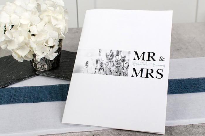 Kirchenheft Hochzeit günstig