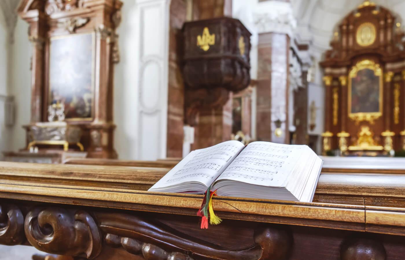 Lieder zur Hochzeit Kirche