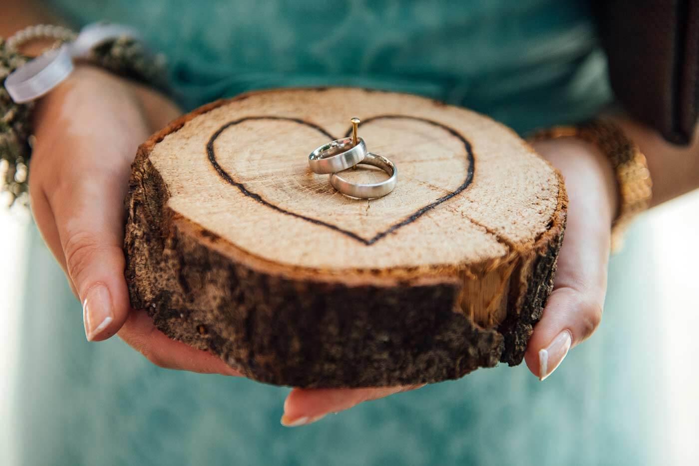 Ringhalter Holz