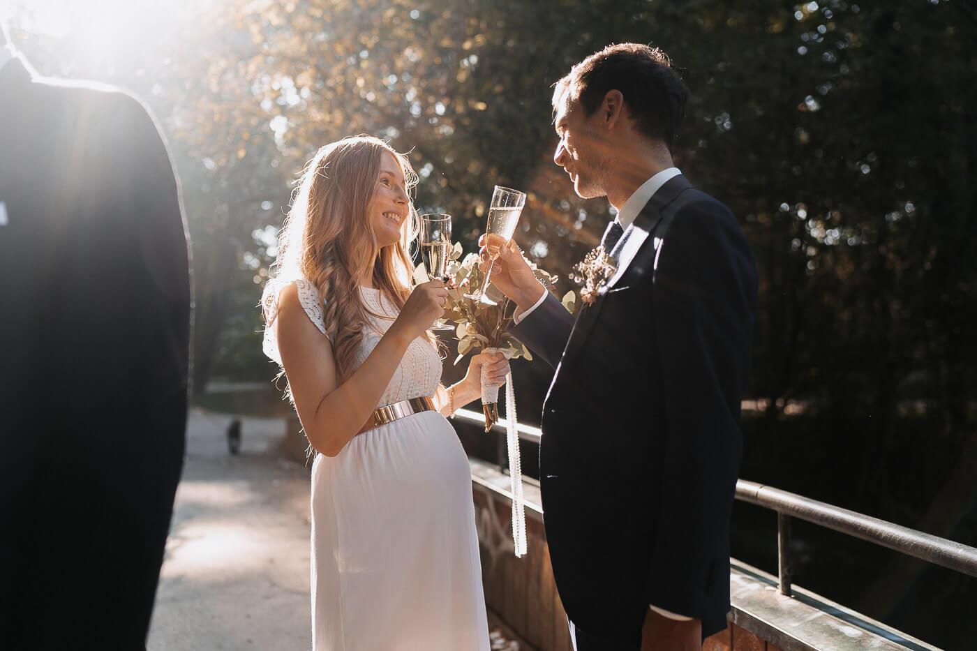 Sektempfang Hochzeit Standesamt