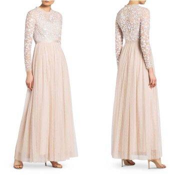 Kleid Standesamt lang
