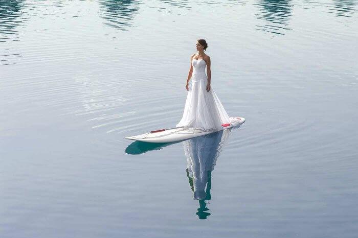 Trash the Dress Stand Up Paddle