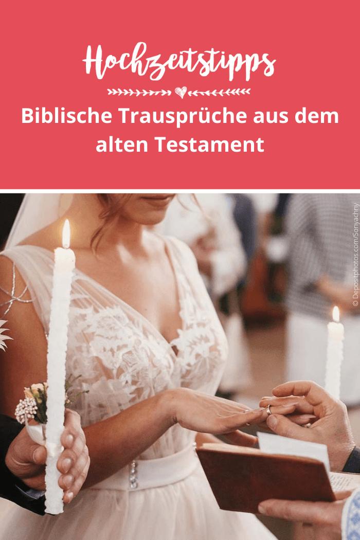 Bibelverse für Hochzeit