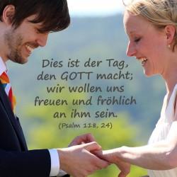 Bibelverse zur Hochzeit